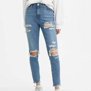Levi's High Rise Ankle Skinny Jeans
